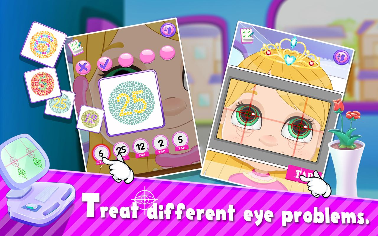 Super Crazy Eye Doctor - Doctor Simulator Games- screenshot