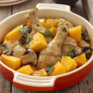 Chicken Pumpkin Mushroom Recipes