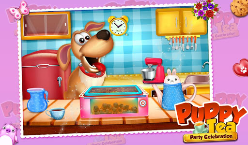 Puppy Tea Party Celebration