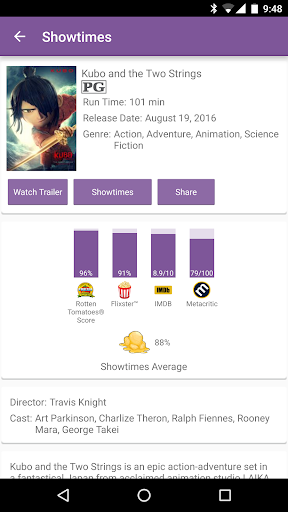 Showtimes (Local Movie Times and Tickets) 2.6 screenshots 3