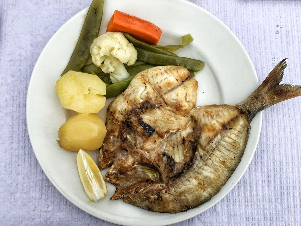 Portugalia, obiad, ryba