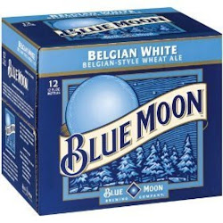 Blue Moon Belgian Wheat Ale - 12 Bottles