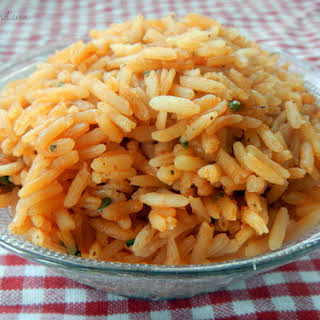 Authentic Mexican Rice.