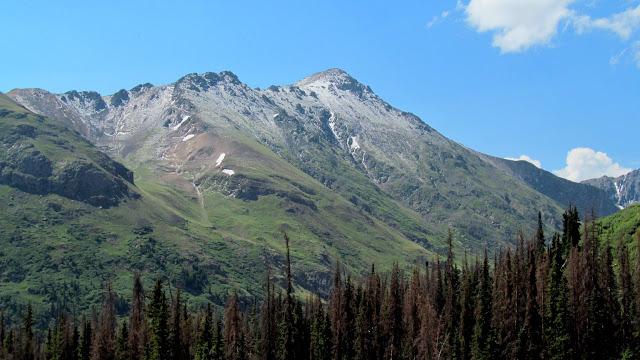 Fresh snow on Handies Peak