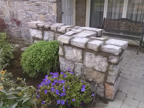 Photo: Stone wall East Rockaway, NY