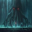 Dark god Cutulu Terror