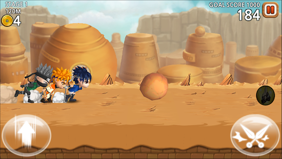 Ultimate Battle: Ninja Dash- screenshot thumbnail