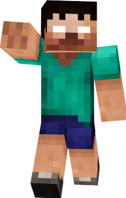 Steve with shorts