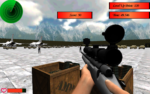 ARMY BASE COMMANDO SNIPER screenshot 1