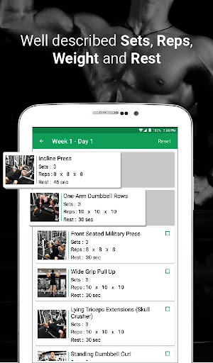 Fitvate - Home & Gym Workout Trainer Fitness Plans 6.8 screenshots 23