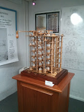 Photo: The working prototype Difference Engine.