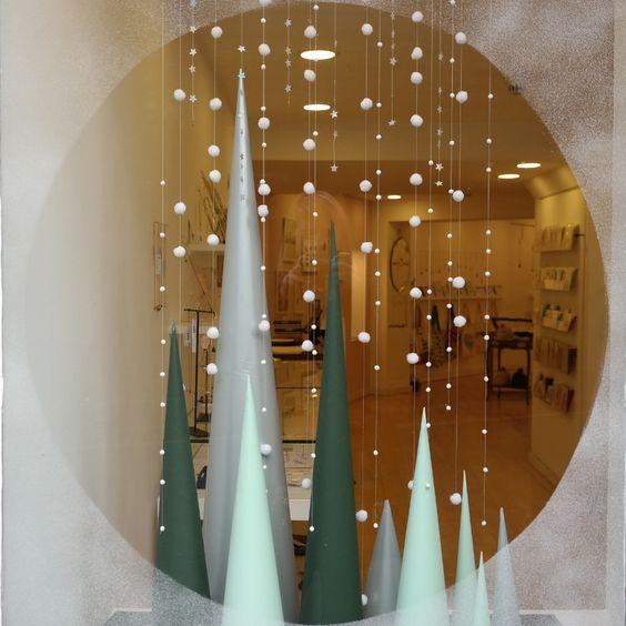 DIY Christmas decorations for windows