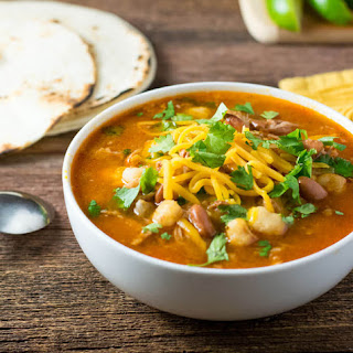 Mexican Posole Soup Recipe with Shredded Pork.