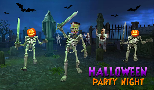 Zombie Night Party: FPS Shooting Game 2020 apkpoly screenshots 7