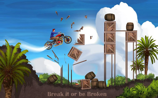 Mini Bike Stunt Trails - Racing Bike Games screenshots 5