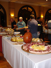 Photo: 1º dia - O buffet do jantar