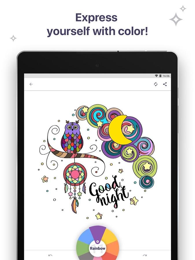 Colouring Book For Me Mandala Screenshot