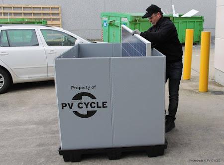 PV CYCLE: Refurbishment van zonnepanelen nu ook mogelijk