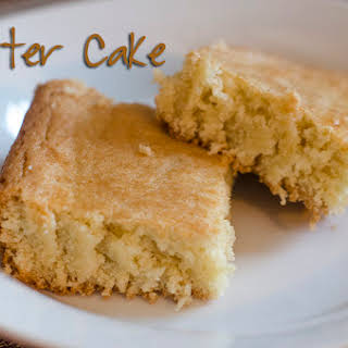 A Delicious Cake Without Frosting - BUTTER Cake.