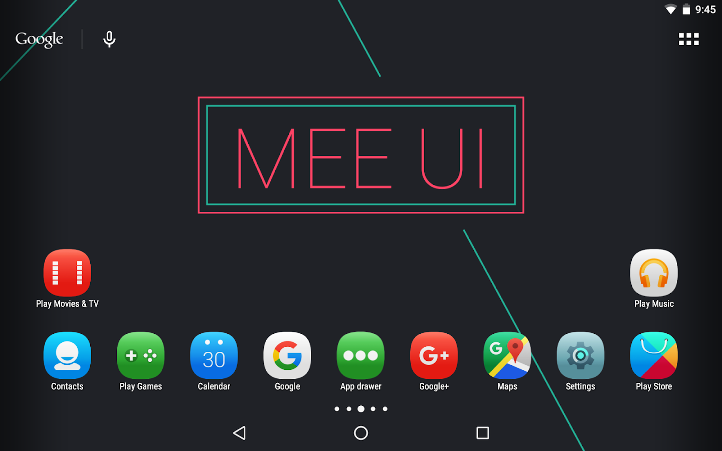 MeeUI Icon Pack- screenshot