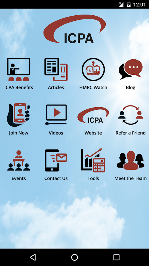 ICPA- screenshot