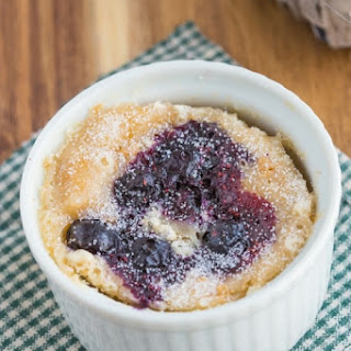 Microwave Blueberry Muffin