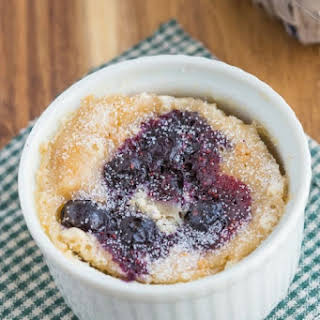 Microwave Blueberry Muffin.
