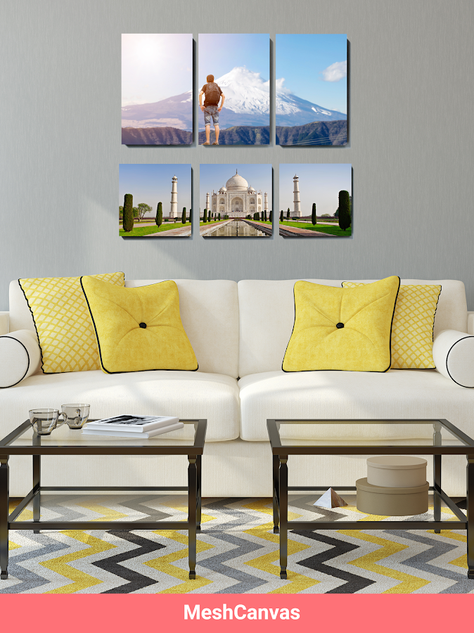 Printage: Mix tiles of photo & movable wall canvas- screenshot
