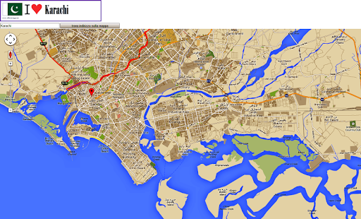 Karachi map apps on google play screenshot image gumiabroncs Image collections