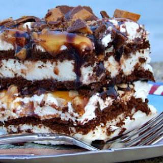 Frozen Caramel Toffee Ice Cream Sandwich Dessert Recipe