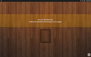 Screenshot of Age Scanner Prank