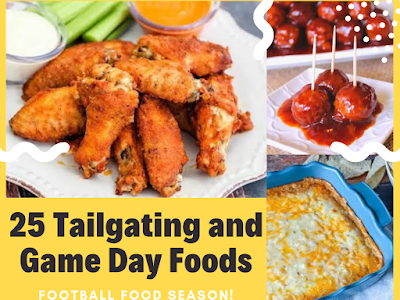 25 Tailgating and Game Day Foods