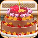 chocolate cake maker icon