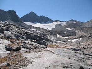 Photo: the McClure Glacier