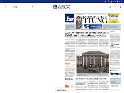bz Baselland E-Paper screenshot 6
