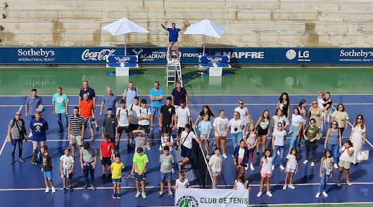 Día inolvidable para el Club de Tenis Almería