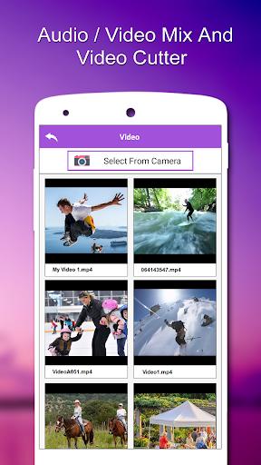 Audio / Video Mix,Video Cutter  screenshots 2
