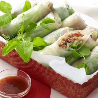Hoisin Turkey Summer Rolls.