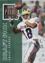 Photo: Amani Toomer 1996 Playoff Prime RC