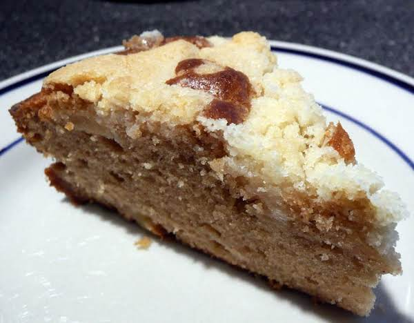 Irish Apple Crumble Cake Recipe