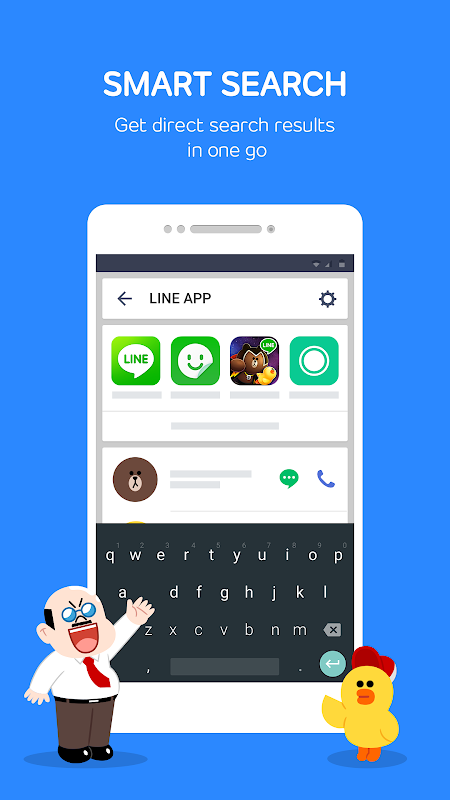 LINE Launcher screenshots
