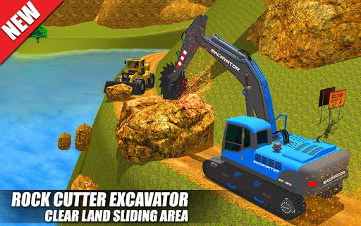 Heavy Excavator Crane: Construction City Truck 3D painmod.com screenshots 17