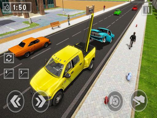 Crazy Tow truck 2020: 3D Euro Driving Simulator  screenshots 6