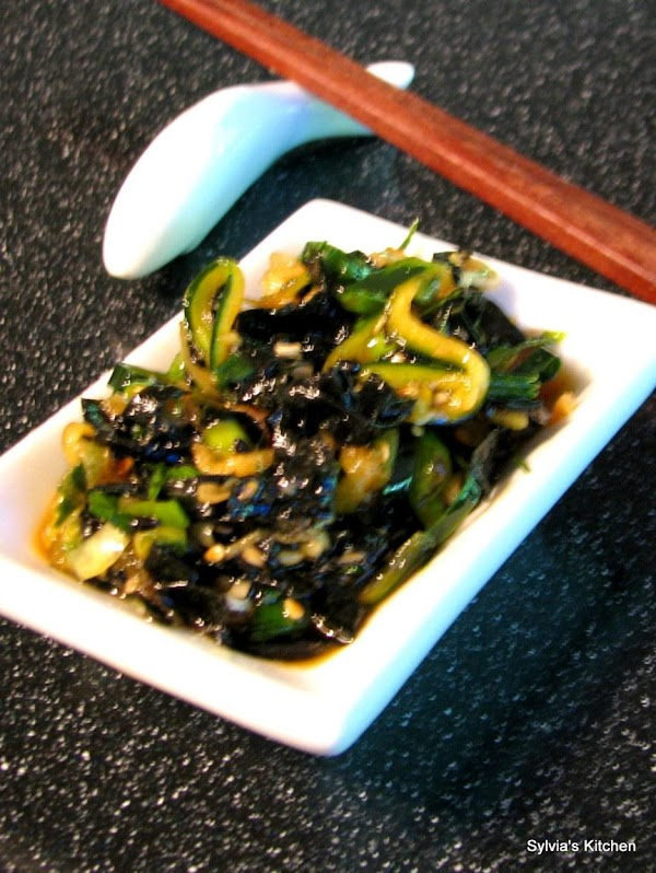 Asian Style Cucumber Salad Recipe