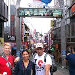 getting our adventure started at Takeshita dori street in Tokyo, Tokyo, Japan