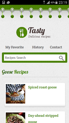 android Goose Recipe Screenshot 9