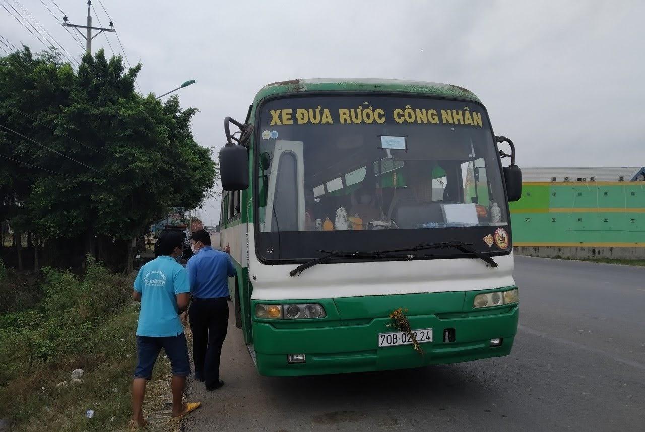 Xe đưa đón công nhân không được chở quá 20 người - Báo Tây Ninh Online