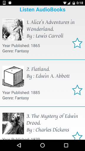 Listen AudioBooks 1.3 screenshots 1
