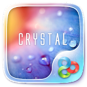 Crystal GO Launcher Theme