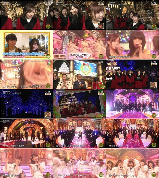 (TV-Music)(1080i+720p) AKB48 46G – CDTVスペシャル!クリスマス音楽祭 2017 171225